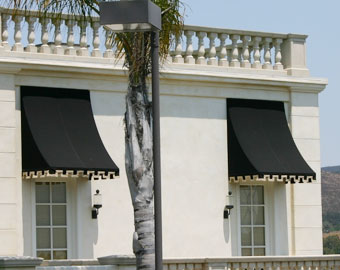 Commercial Window Fixed Awning & Custom Awnings/Canopies San Diego County CA | Fixed/Stationary ...