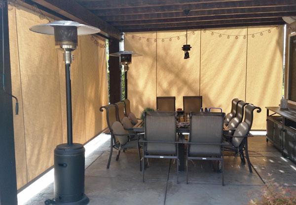 Solar Screens Amp Drop Roll Curtains San Diego County Ca