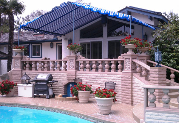 SunMaster Awnings Gallery - Fixed Stationary Awnings San ...