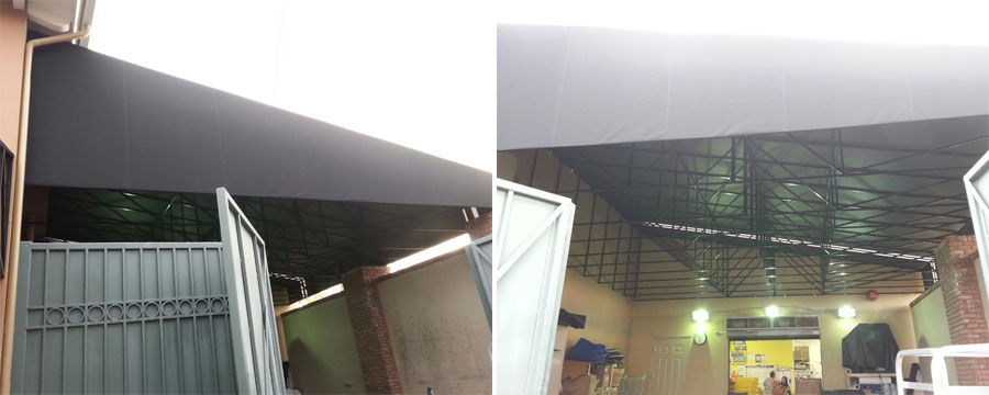 Commercial Awnings Installation