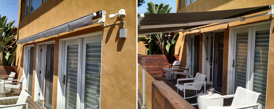Motorized Retractable Awning System