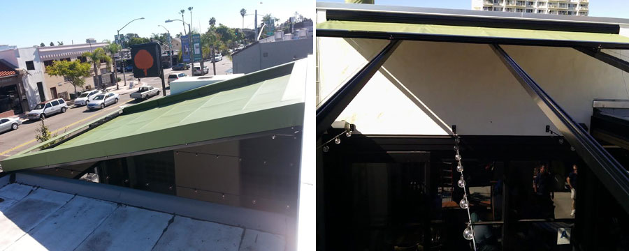 San Diego Retail Awnings