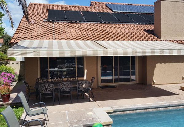 SunMaster Awnings Gallery - Retractable Awnings San Diego ...